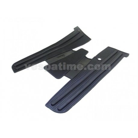 Rubber mat black for vespa px125e