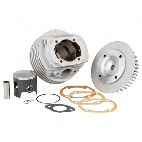 Cylinder m1 gtr quattrini aluminium nickel-silicon plated diameter 60 mm, crankcase intake for vespa smallframe