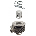Cylinder and piston cc 150 for vespa 60s/70s, two ports
