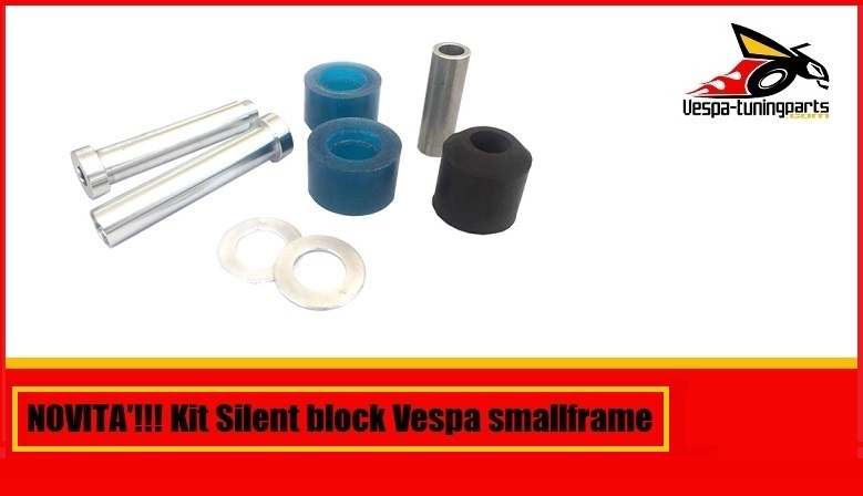 Kit silent block vespa smallframe