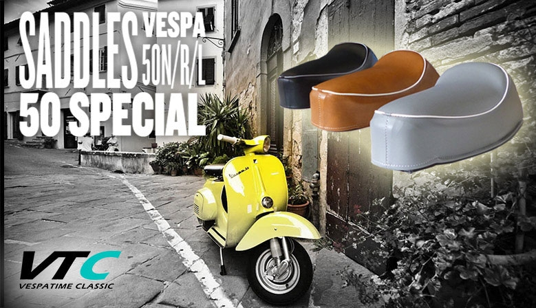 Vespa saddles